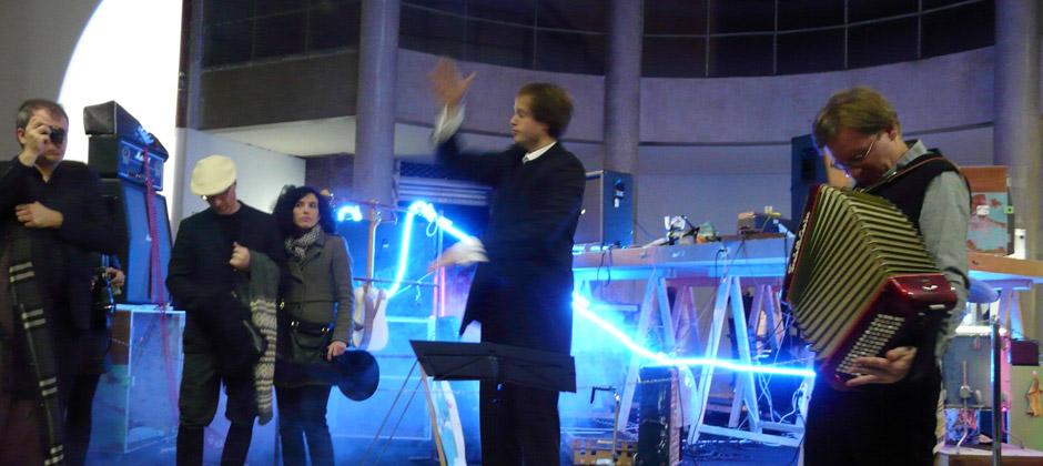 TO YOU de Franck Krawczyk  Performance musicale / Palais de Tokyo / 13 février 2014
