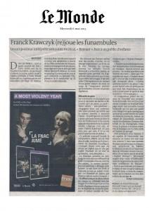 Le Monde 6 mai 15